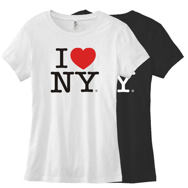 Women's Fitted I Love NY Tees