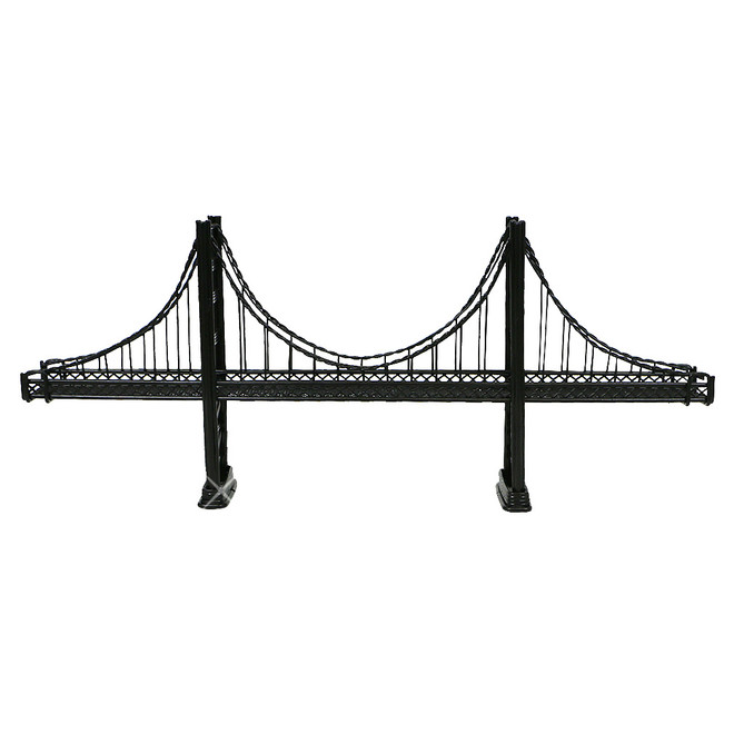 Black Golden Gate Bridge Wire Model