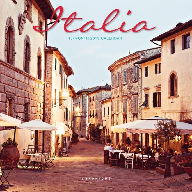 Italy Mini Calendar, Mini Wall Calendar