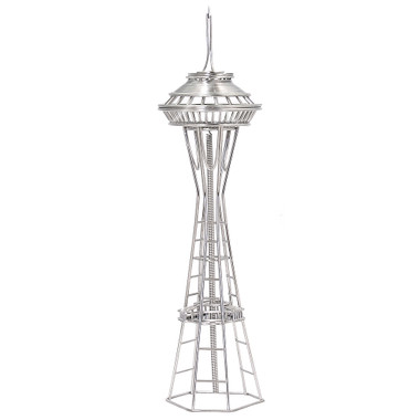 Seattle's Space Needle Wire Model
