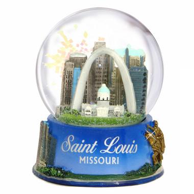 St Louis Taxi >> St. Louis, Missouri Snow Globe
