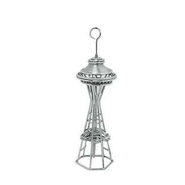 Seattle Space Needle Metal Photo and Memo Clip