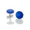 Colby Davis Compass Rose Cufflinks - Royal Blue
