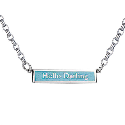 Colby Davis of Boston Necklace Hello Darling