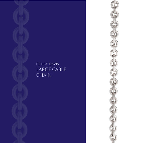 Colby Davis Chain: Large Cable