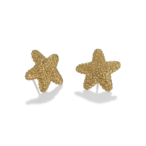 Starfish Earrings - Gold Vermeil