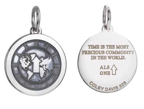 Colby Davis Pendant: Medium ALS (chain sold separately)