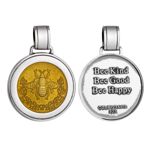 Colby Davis Pendant: Large Bee (chain sold separately)