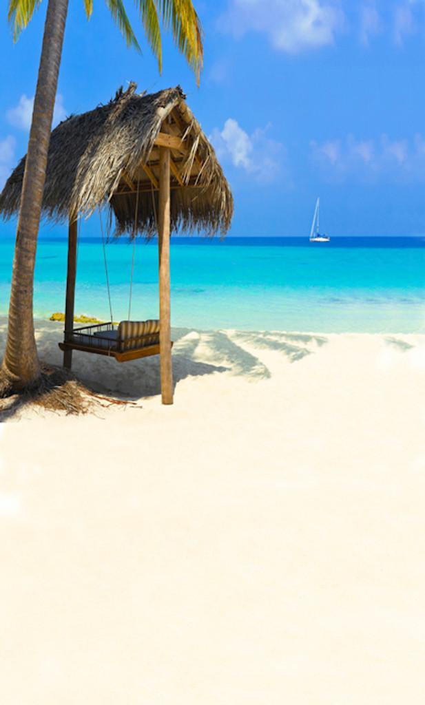 Beachside Swing Backdrop