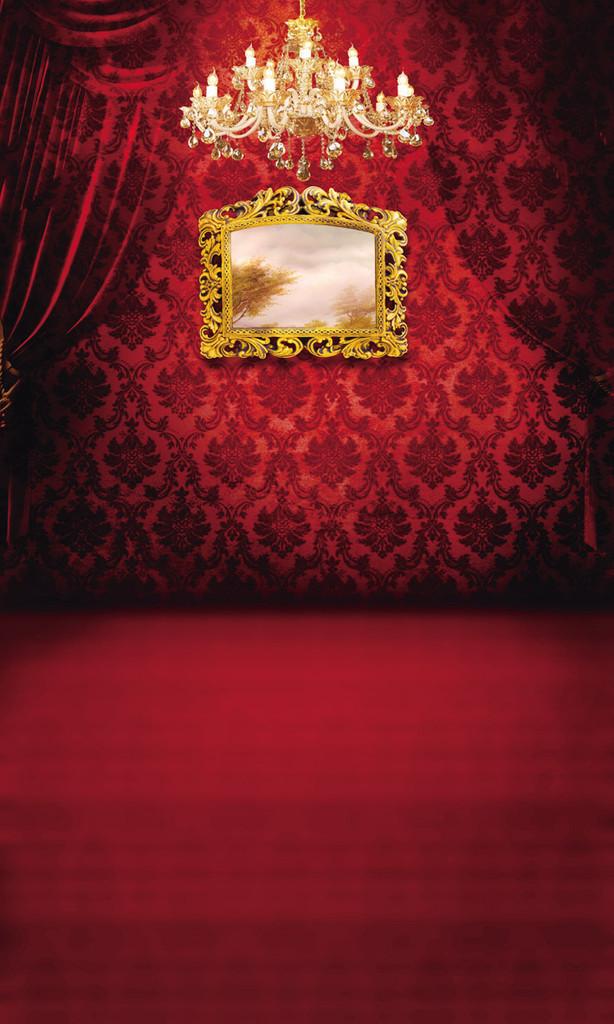 Victorian Boudoir Backdrop
