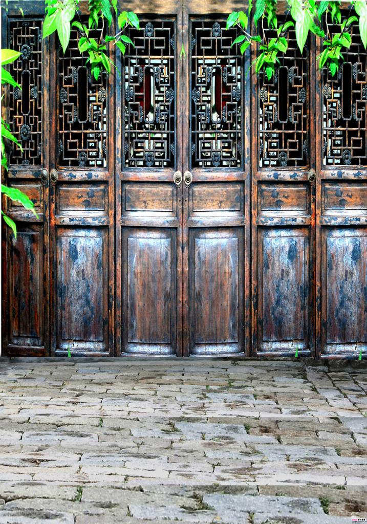 Asian Doors Backdrop & Asian Doors Backdrop | Photo Pie