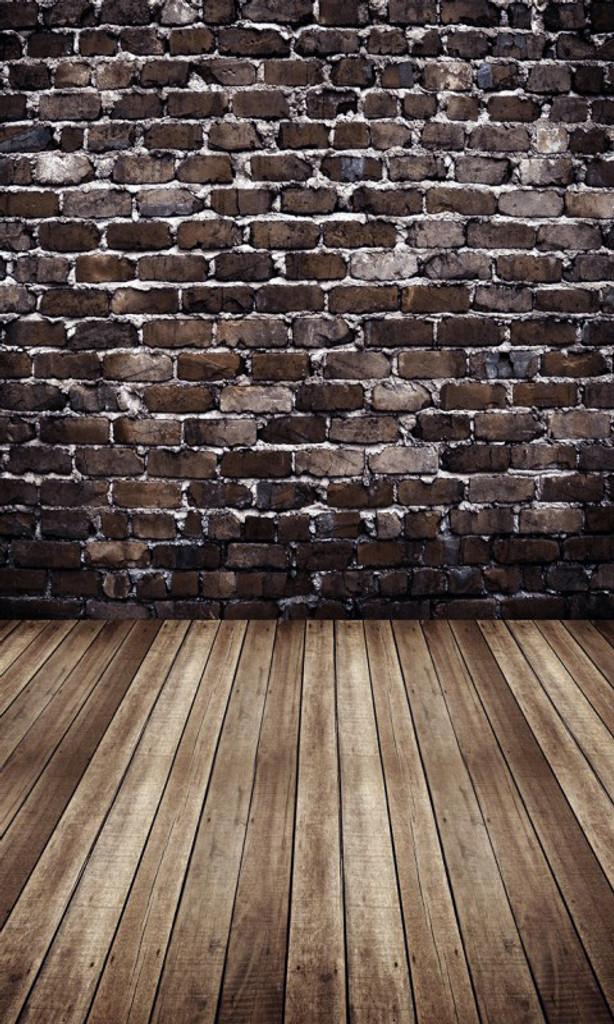 Brick Room Photography Backdrop