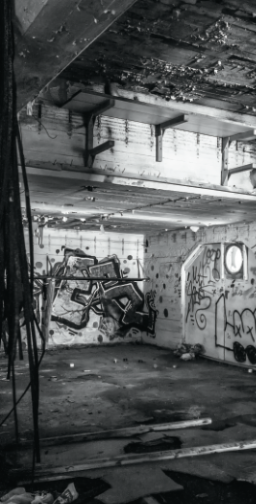 Abandoned Graffiti Garage