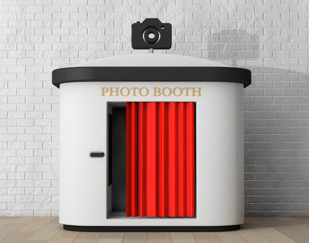 Custom Photobooth Backdrop