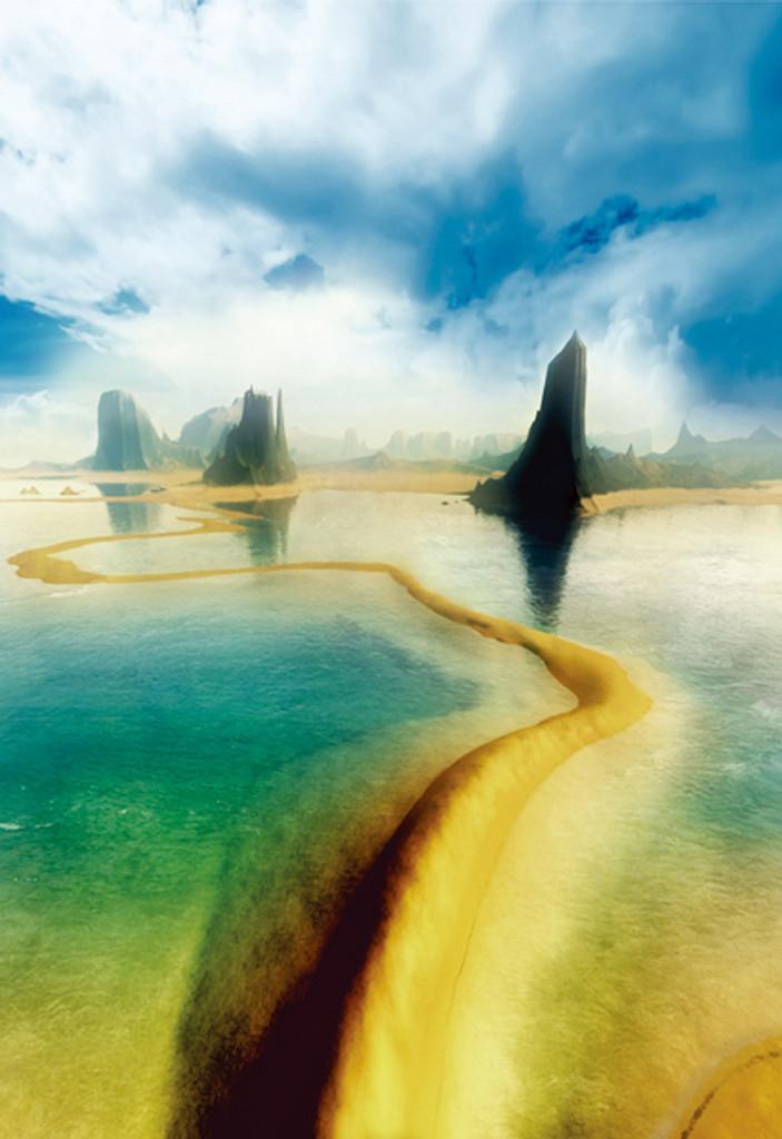Primordial Sea Backdrop
