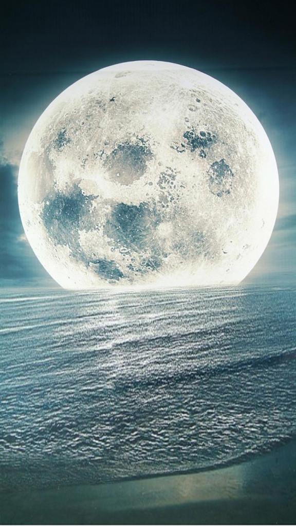 Full Moon Backdrop