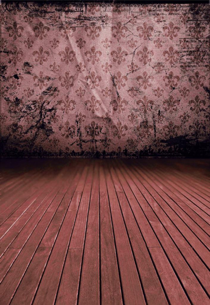 Fleur de Lis (Pink) Backdrop