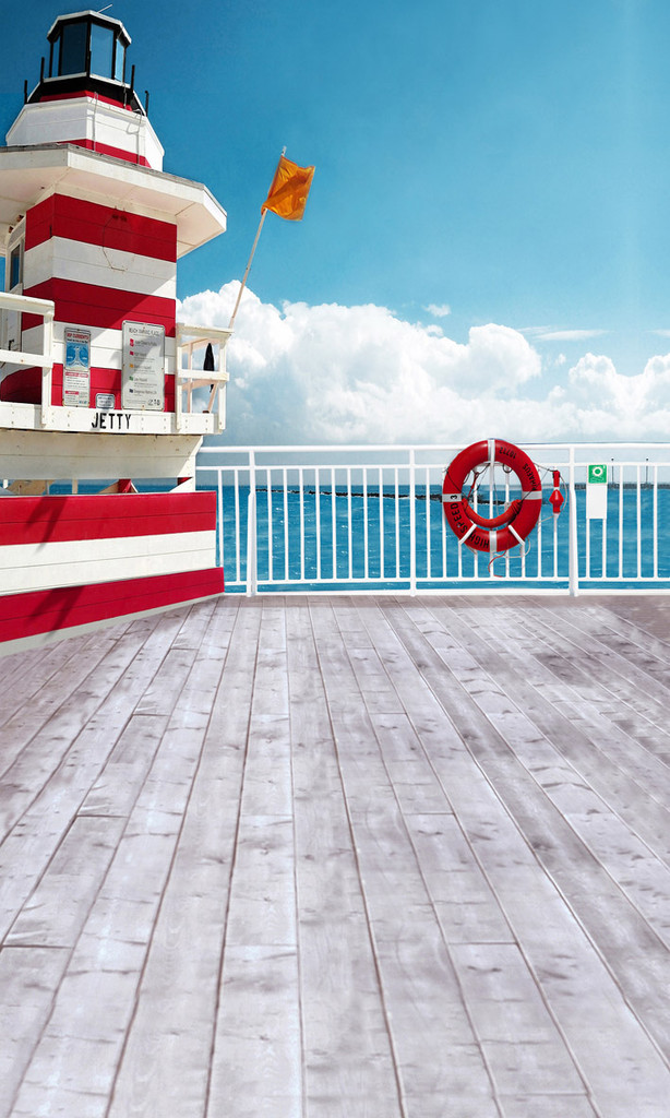 Dock On The Bay Photography Backdrops