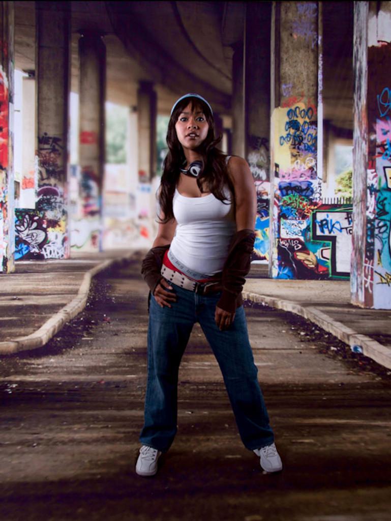 Graffiti Bridge Backdrop