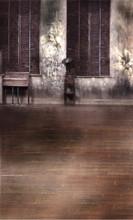Sepia Vintage Room Backdrop
