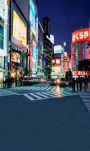Tokyo Nights Backdrop