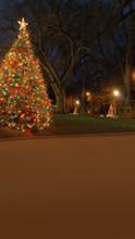 Christmas Neighborhood Backdrop