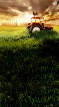 Tractor's Twilight Backdrop