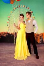 Ferris Wheel Photography Backdrop