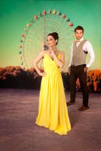Ferris Wheel Photography Background
