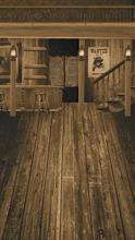 Sepia Saloon Interior Backdrop