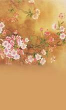 Faded Sakura Backdrop