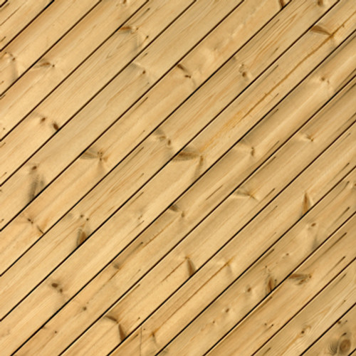 Diagonal Wood Planks Floor