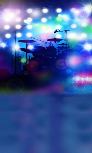 Rock God Backdrop