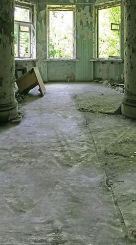 Empty Grunge Room Backdrop