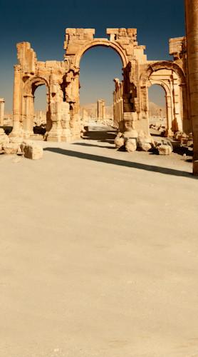 Ancient Ruins Backdrop