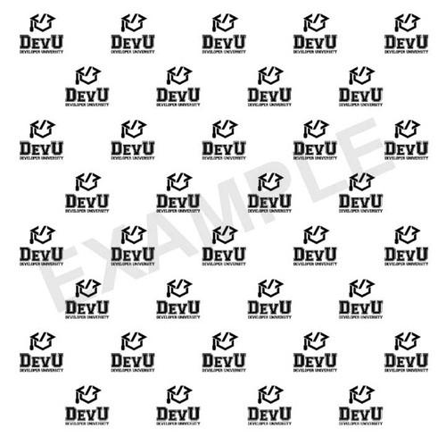 Step & Repeat Backdrop (Your Custom Logo)