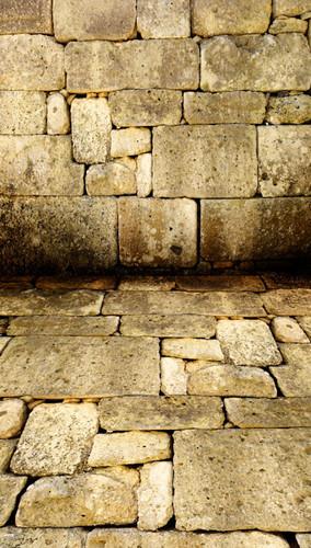 Cut Stone Wall Backdrop