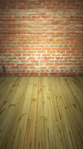 Washed Brick Wall Backdrop