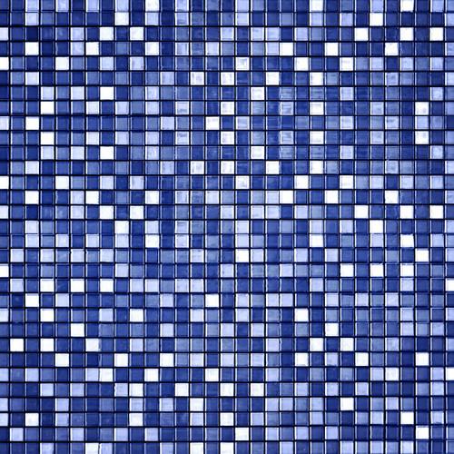 Ocean Mosaic Tile Floor