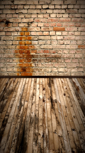 Light Stained Brick Backdrop