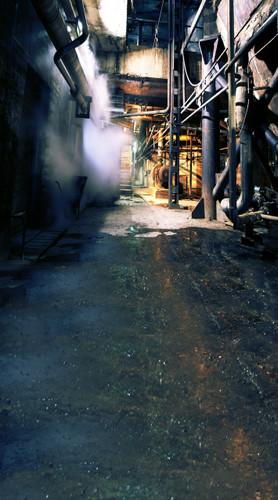 Steam Room Backdrop