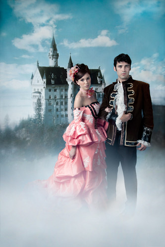 Castle in the Clouds Photography Backdrops