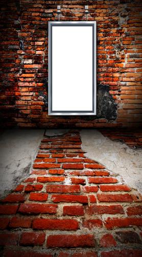 Brick Marquee Backdrop