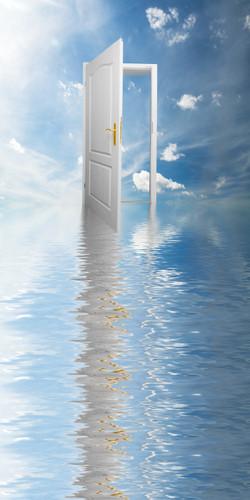 Serenity Doorway Backdrop