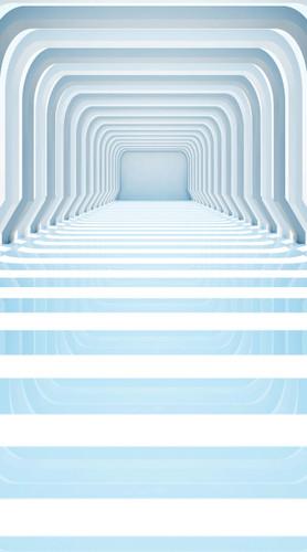 Futuristic Hallway Backdrop