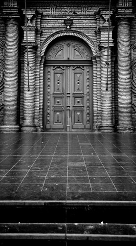 Elegant Door Backdrop