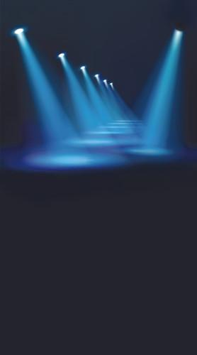 Spotlight Walkway Backdrop