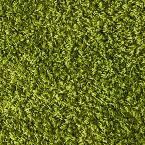 Green Shag Floor