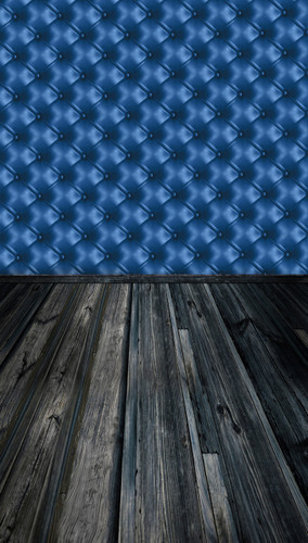 Tufted Wall Backdrop-(Blue)