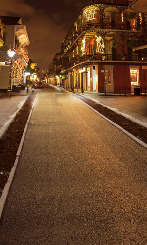 Christmas on Bourbon Street Backdrop